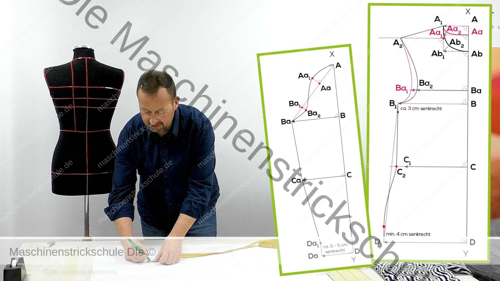 Vorschaubild: Schnittkonstruktion (körpernaher Pullover)